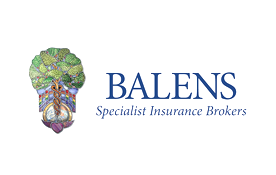 tree and crest Balens logo