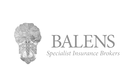 tree and crest Balens grey logo